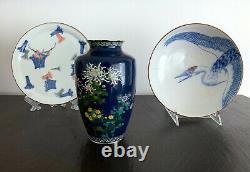 A Fine Japanese Cloisonne Vase by Hayashi Kodenji