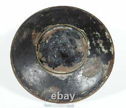 Antique Japanese Edo Period Cloisonne Dish Fine Wire