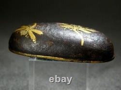 FINE Dragonfly KOJIRI Swod fitting 18/19C Japanese Edo Original Antique Koshirae