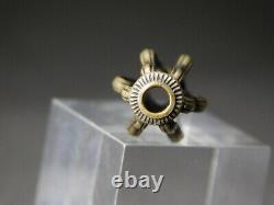 FINE Open work OJIME Bead NETSUKE 19thC Japanese Edo Meiji Inro Antique