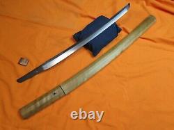 FINE Shuguha Wakizashi Antique Samurai japanese koshirae saya katana menuki