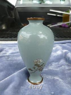 Fine Antique Diminutive Japanese Cloisonne Vase Circa 1900 As Is