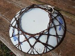 Fine quality antique Japanese IMARI plate c1890