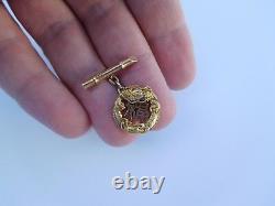 Imperial Japanese Meiji 14K Gold Lucky Dragons Asahi Shoten Cufflinks