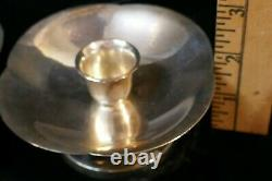 Mikimoto Vintage Japaneses Candle holders 950 fine Sterling 354.5 grams