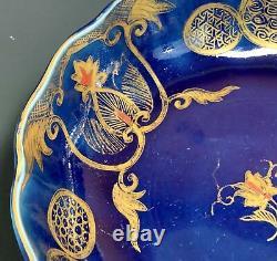 VERY Fine Antique Japanese Imari Porcelain Scalloped Bowl