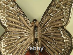 Very Fine Japan Japanese Bronze Figure of a Butterfly Decoration ca. 20th c