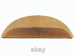 Vintage Japanese Nihongami Styling Fine-Tooth Comb Tsuge-Gushi Aug17B