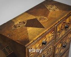 Armoire De Table De Marqueterie Japonaise De Haute Qualité Antique Vers 1890