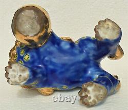 Crabot Japonais Fin De Foo De Porcelaine De Kutani
