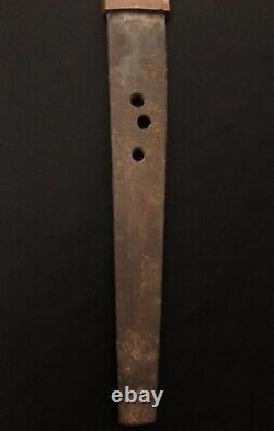 Épée Japonaise Des Années 1600 -katana/old/antique Samurai Collection/fine Iiado Practice