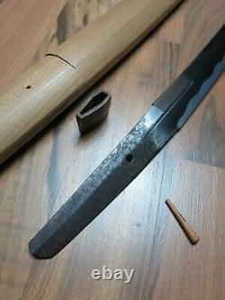 Fine Art Waki Épée Antique Samurai Japonais Koshirae Saya Katana Menuki Fuchi
