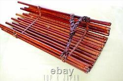 Fine Japonais Ikebana Panier Créatif Bambou Art Fleur Bourgeon Cérémonie De Thé Kago