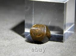 Fine Kinko Ojime Bead Hidden Cross Netsuke 19thc Japonais Edo Antique Pour Inro