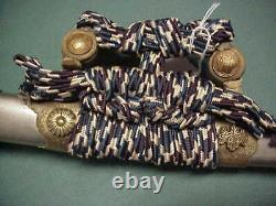 Fine Présentation Japonais Samurai Tachi Katana Clouds Choji Hamon Imperial Cadeau