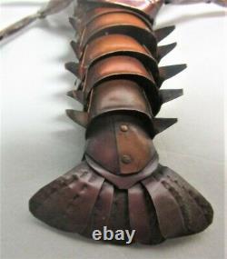 Fine Signé 19ème C. Meiji-era Japanese Articulée Crayfish Lobster Antique