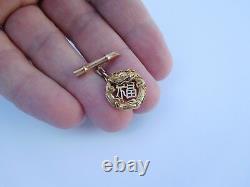 Impérial Japonais Meiji 14k Gold Lucky Dragons Asahi Shoten Cufflinks