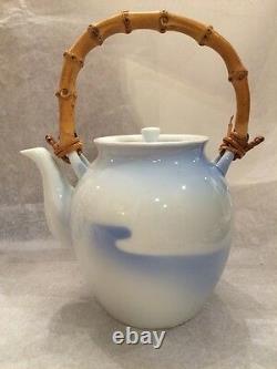 Marqué Fukagawa Fine China Japanese Tea Pot & Cup Set