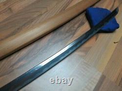 Nice Fine Muromachi Long Wakizashi Épée Antique Samurai Japonais Koshirae Saya