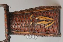 Panier Japonais Fin Ikebana Bamboo W27