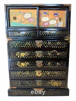 Tansu Meiji Japonese Rare Fine Rare
