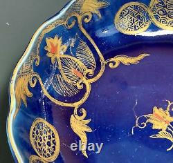 Très Fine Antique Japonais Imari Porcelaine Pétoncle Bol