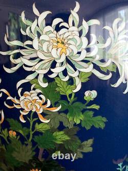 Un Beau Vase Japonais Cloisonne Par Hayashi Kodenji