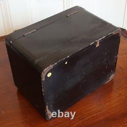 Un Caddy De Thé Laqué Japonais Antique De Fine Qualité, Décoré Avec Des Pièces Chanceuses