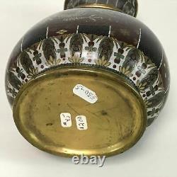 Vase À Cloisonne D'époque Meiji Antique Fine Japonaise 10