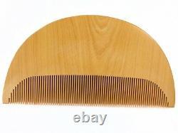 Vintage Japonais Nihongami Styling Fine-tooth Comb Tsuge-gushi Août17b